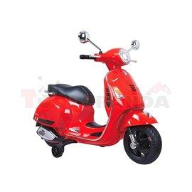 Скутер акумулаторен Vespa 30кг. 3г.