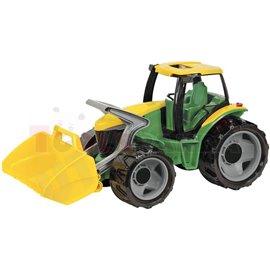 Трактор жълто/зелен 69см. 3г.