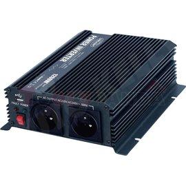 Преобразувател на ток от 12/230V + USB 1200W