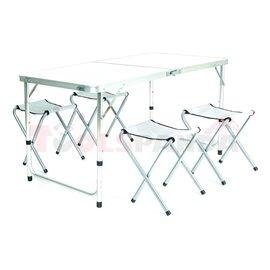 Къмпинг маса и столове 5бр. к-т