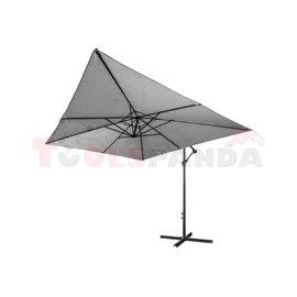 Чадър квадратен висящ антрацит 3х3м.