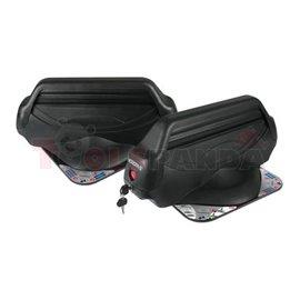 Магнитен багажник MYURA S за 3 чифта ски/2 сноуборда