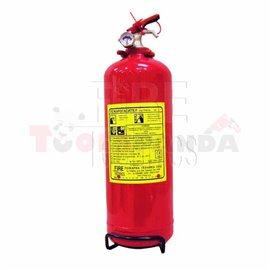 Прахов пожарогасител 2кг ABC