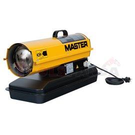 Отоплител дизелов 20 kW с директно изгаряне и регулиране на пламъка с фотоклетка | MASTER