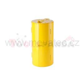 Закрита стойка жълт цвят - MEVA
