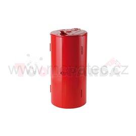 Закрита стойка червен цвят - MEVA