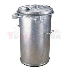 Горещо поцинкована кофа за боклук - MEVA
