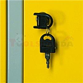 Ключ с ключалка за гардероб - UNIOR