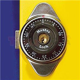 Ключалка с шифър и ключ за гардероб - UNIOR