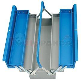 Кутия за инструменти метална 5-отделения | UNIOR