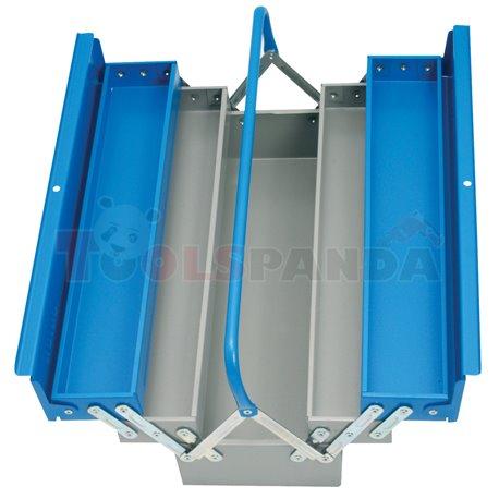 Кутия за инструменти метална 5-отделения - UNIOR