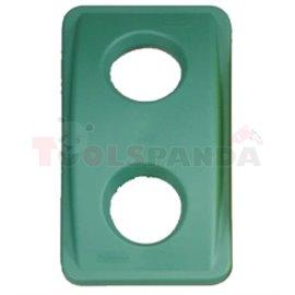"""Капак за стъкло - зелен за """"Slim Jim"""" - MEVA"""