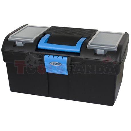 Кутия за инструменти пластмасова 394x215x195 мм. / - UNIOR