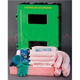 Химически комплект в закачващ се пластмасов бокс - MEVA