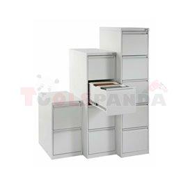 Шкафове - картотеки – формат А4, 400 х 623 х 1320 - MEVA