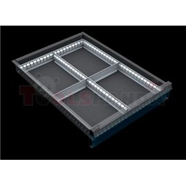 Разделители за чекмеджета, за чекмеджета с височина 60 – 120 мм - MEVA