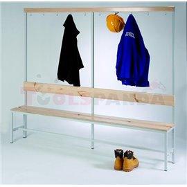 Пейки за гардероби – демонтиращи се, 450 х 1500 х 290 мм - MEVA