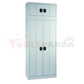 Универсален шкаф - сглобяем, 1150 x 900 x 400 мм - MEVA