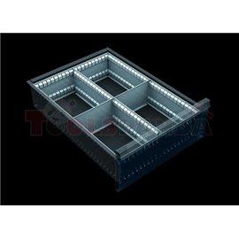 Разделители за чекмеджета, за чекмеджета с височина 150 – 240 мм | MEVA