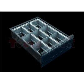 Разделители за чекмеджета, за чекмеджета с височина 150 – 240 мм - MEVA