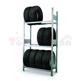 Стелаж за складиране на гуми 1000мм - MEVA