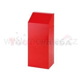 Кош за отпадък със свалящ се капак-червен - MEVA