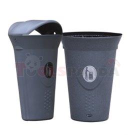 Кош за отпадъци LUNA-без капак - MEVA