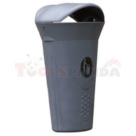 Кош за отпадъци LUNA-с капак - MEVA