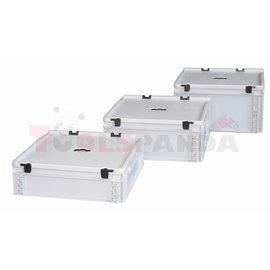 Пластмасов съд за събиране на употребявани батерии - MEVA