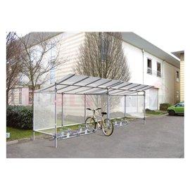 Навес за велосипеди-икономичен-доп.модул - MEVA
