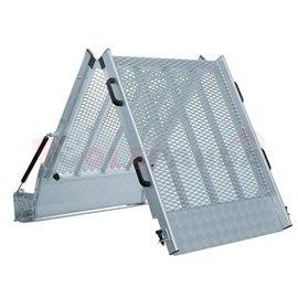 Сгъваема алуминиева рампа-225см - MEVA