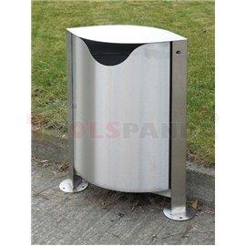 Кош за отпадъци-55l-неръждавейка - MEVA