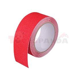 Лента срещу подхлъзване - червена 50 mm х 18,3 m - MEVA