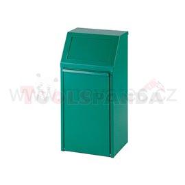 Обръщаемо кошче - 40L-зелено - MEVA
