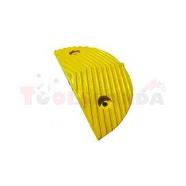 Ограничител на скоростта краен жълт - 10км/ч - MEVA