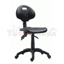 Полиуретанов работен стол с колелца | MEVA