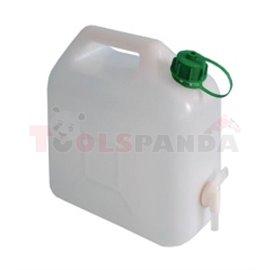 Пластмасовa тубa с канела за източване-5l - MEVA