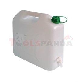 Пластмасовa тубa с канела за източване-10l - MEVA