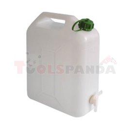 Пластмасовa тубa с канела за източване-20l - MEVA