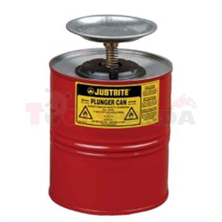 Навлажняващ съд за запалими вещества - MEVA