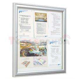 Външнa витринa KLASIK 1350x1000 mm. , дълбочина 58mm - MEVA