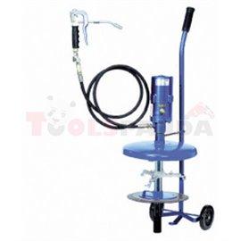 Пневматична помпа за смазочни вещества 200 кг - MEVA
