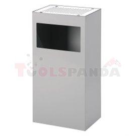 Кош за отпадъци ALFA 80L сив - MEVA