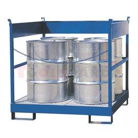 Каптажни вани за превоз, за 4 съда - цинк | MEVA