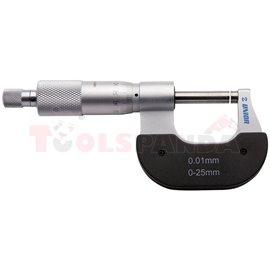 Микрометър външен / 0-25 мм. / - UNIOR
