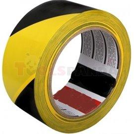 Предупредителна залепваща се жълто-черна лента - MEVA