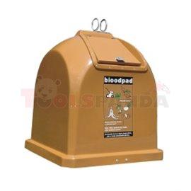 Модел H Био-2,1 куб. м-за био отпадъци - MEVA