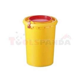 Съдове за медицински отпадъци 0,5л - MEVA