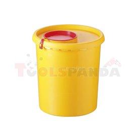 Съдове за медицински отпадъци 1,5л - MEVA