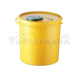 Съдове за медицински отпадъци 10л - MEVA